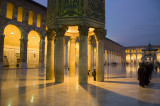 The mosque at dusk...