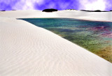 More lakes & dunes...