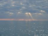 Sunset at Caspersen Beach