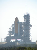 Space Shuttle Endevour on LC-39A