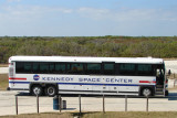 Kennedy Space Center tour bus
