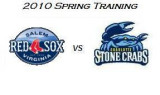 Spring Training: Charlotte Stone Crabs vs Salem Red Sox (3/20/10)