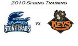 Spring Training: Charlotte Stone Crabs at Frederick Keys (3/26/10)