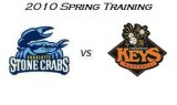 Spring Training: Charlotte Stone Crabs at Frederick Keys (3/31/10)