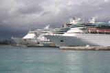 Cruise Ships in Prince George Wharf