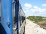 Side shot of train
