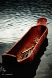 Wooden boat, Lake Sebu