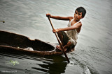 Boat boy, Lake Sebu