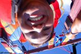 Self-portrait while parasailing