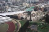 Landing at  Kai Tak  Hong Kong'airport: the good old time