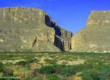 entrance to Santa Elena Canyon, Big Bend NP