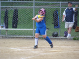2009 - Riley Hitting a Double for the UM Lady Mavs