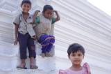 Children Playing on Stuppa in Buddhist Monastery (2).jpg