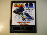 Awards for my Blue Iroc R/T