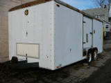 Mark's new (to him) 18 Ft. Enclosed Car Trailer