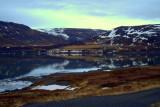Þorskafjörður í janúar