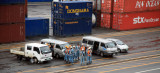 Stevedores Waiting to Board