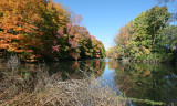 October at the Vassar Farms Pond