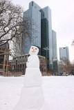 Frankfurt in white
