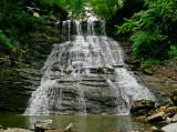 Lower Baxter Branch Waterfalls
