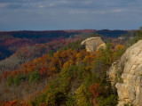 Courthouse Rock, seen from Auxier Ridge Trail