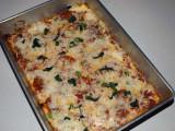 Deep Dish Quiche Pizza