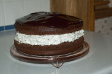 Chocolate Covered Oreo Cookie Cake