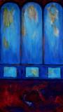 Dom  2 Leinwand 40x70 Acryl