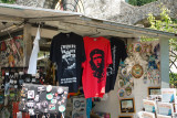 T-shirts sold in front of the Vittoriale