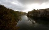 the Tiber in autumn