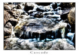 Cascade. HDR image