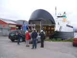Catching a ferry to The Lofoten Islands