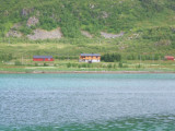 Typical Norwegion lakeside residences