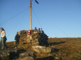Cairn at summit