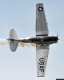 Bill Leff and his T-6