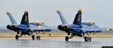 Blue Angels - Solos taking off
