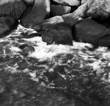 Rock and water, Chesapeake Bay, Virginia, 2010.jpg