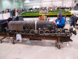 An in-progress 1.5 scale Union Pacific Big Boy.