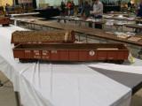A PRR G27 gondola, sold at the auction.
