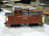 A PRR N6a Cabin Car, sold at the auction.