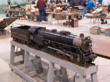 A Reading 4-8-2 in 1 scale sold at the auction.