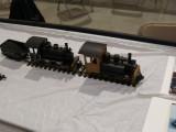 G scale live-steam locomotive.