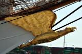 Mast head, Coast Guard Barque Eagle