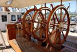 Aboard the US Coastguard Barque Eagle