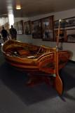 Wonderful wooden craft inside the Maritime Museum