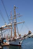 U.S Coast Guard training ship, the Barque Eagle