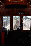 A ride on the Red Car (Old street car)