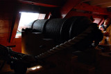 View of one of the Cannons aboard the HMS Surprise