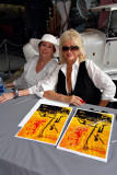 Linda Vaughn - First Lady of Motorsports (right)