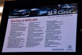 Mercedes SLR specs